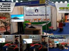 Rental TV untuk pameran property di Pekanbaru
