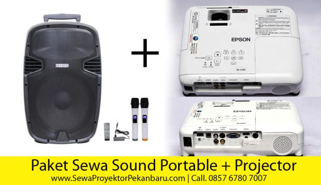 Sewa Audio Sound Portable Speaker dan Sewa Projector Pekanbaru