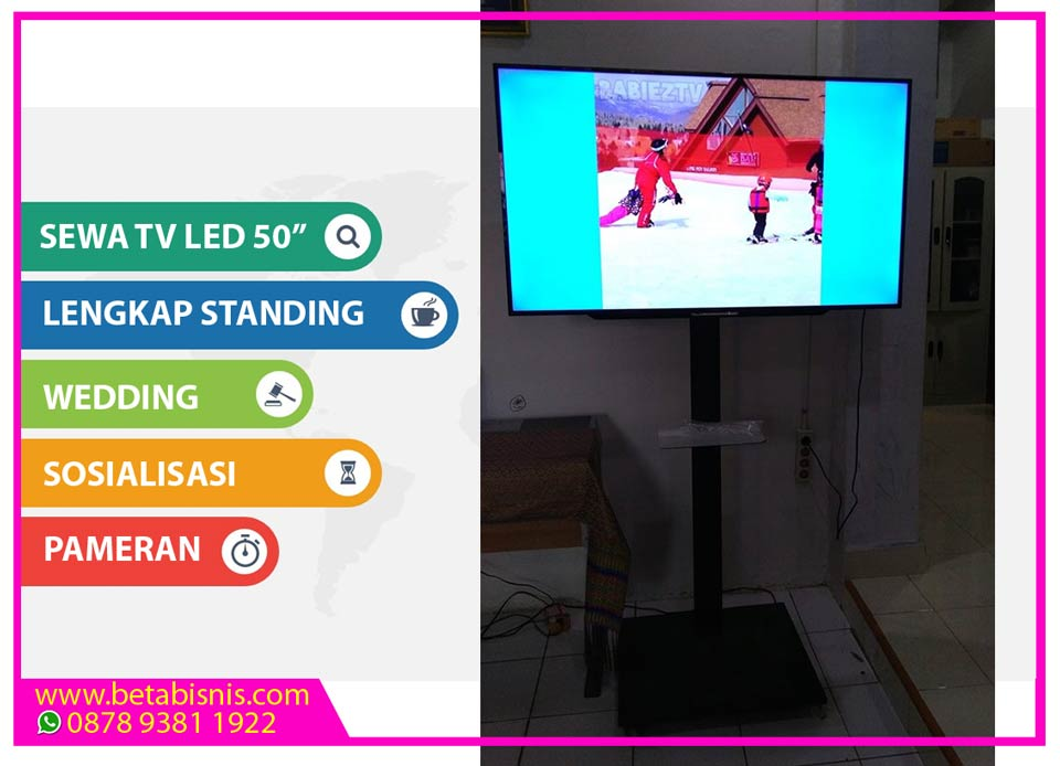 Sewa TV LED 50Inch Pekanbaru