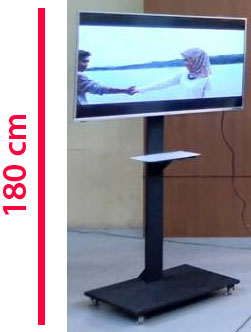 sewa standing tv pekanbaru