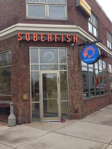 New Soberfish  Signage