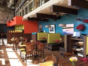Pizza Luce Dining Area