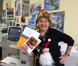 Vicki Joan Keck, owner of Ivy Arts Copy & Print