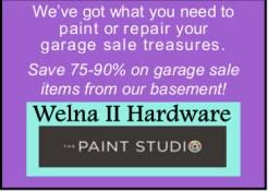 2015 Welna Seward garage sale
