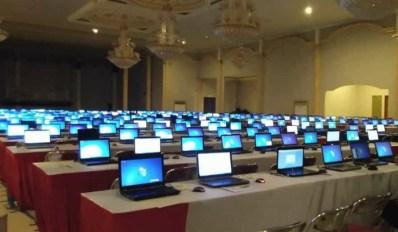 Sewa Laptop dan Server Untuk UNBK kota bogor
