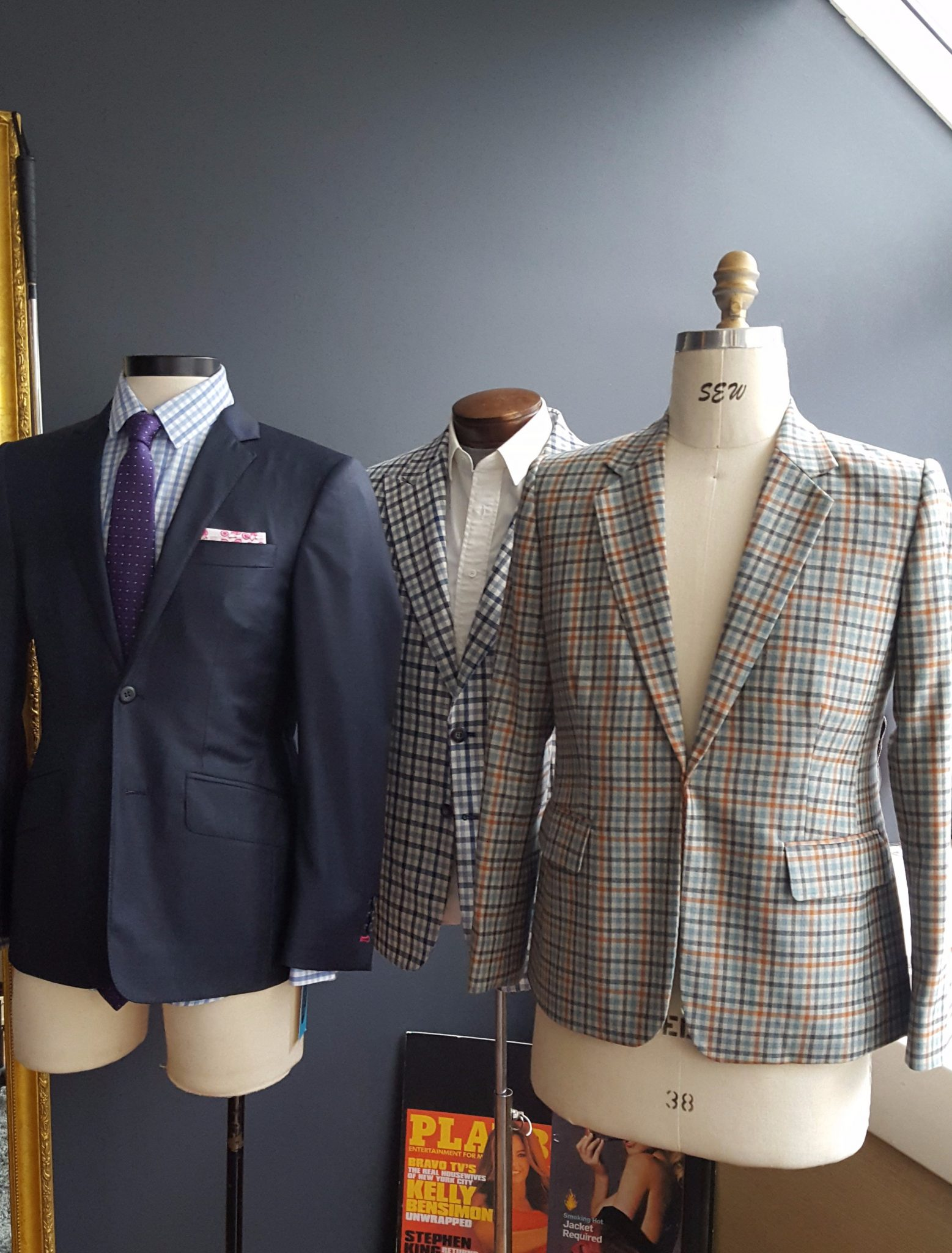Hand tailored in NY by NY most experienced tailor