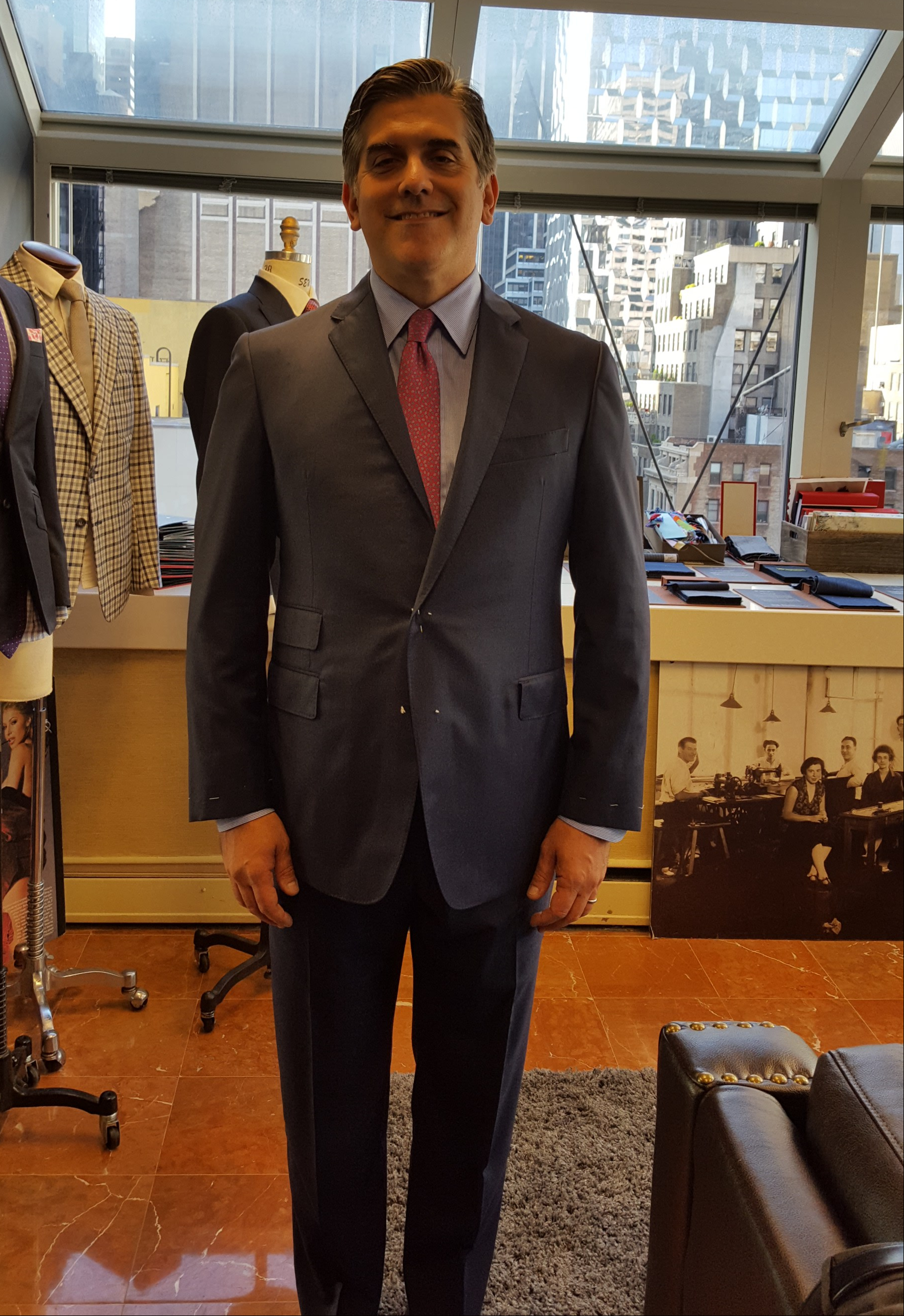 Custom Bespoke Suit NYC