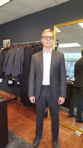 Hand Made in NY by local tailors