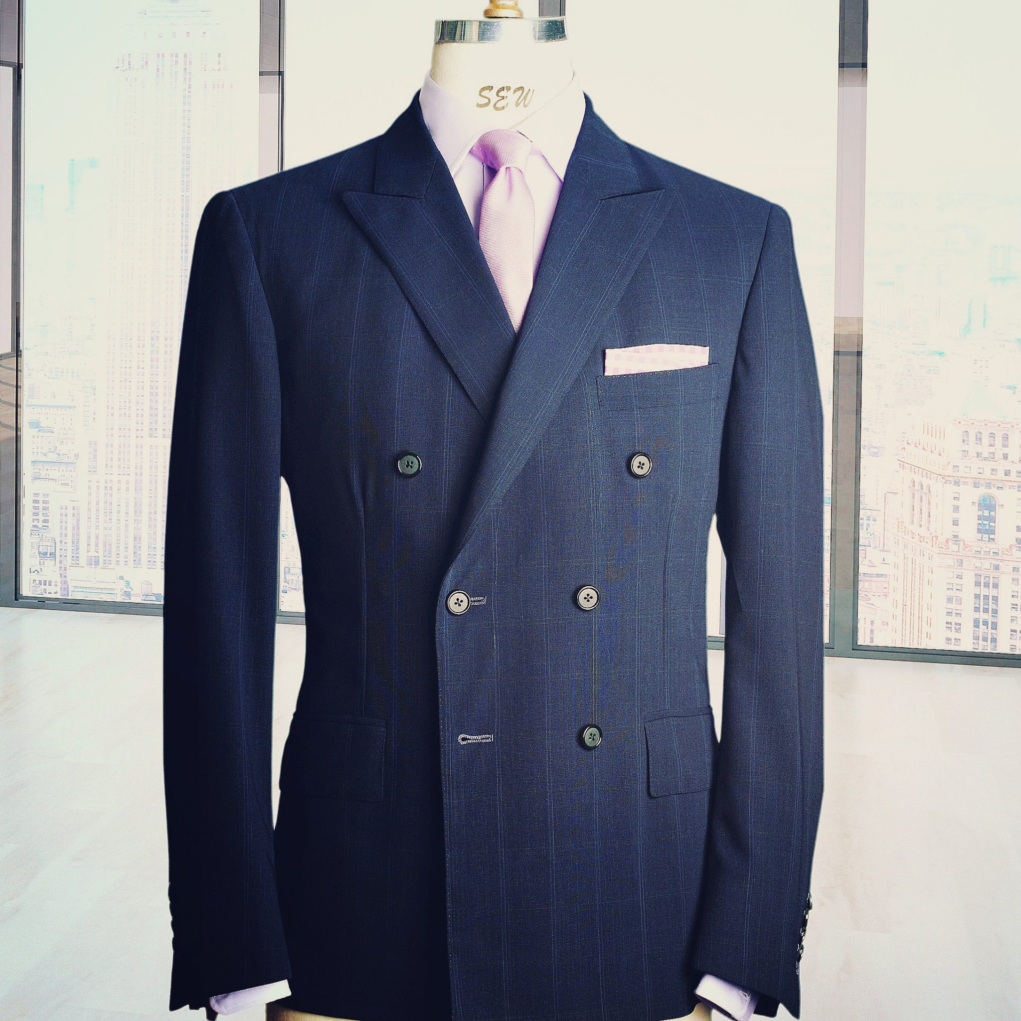 custom bespoke Suits of nyc by manhattans most experienced tailor