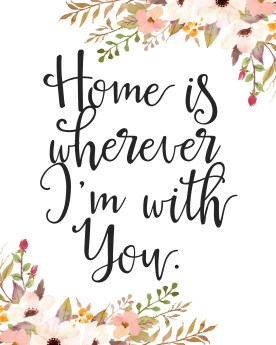 homeiswhereverimwithyoutribalfloral8x10
