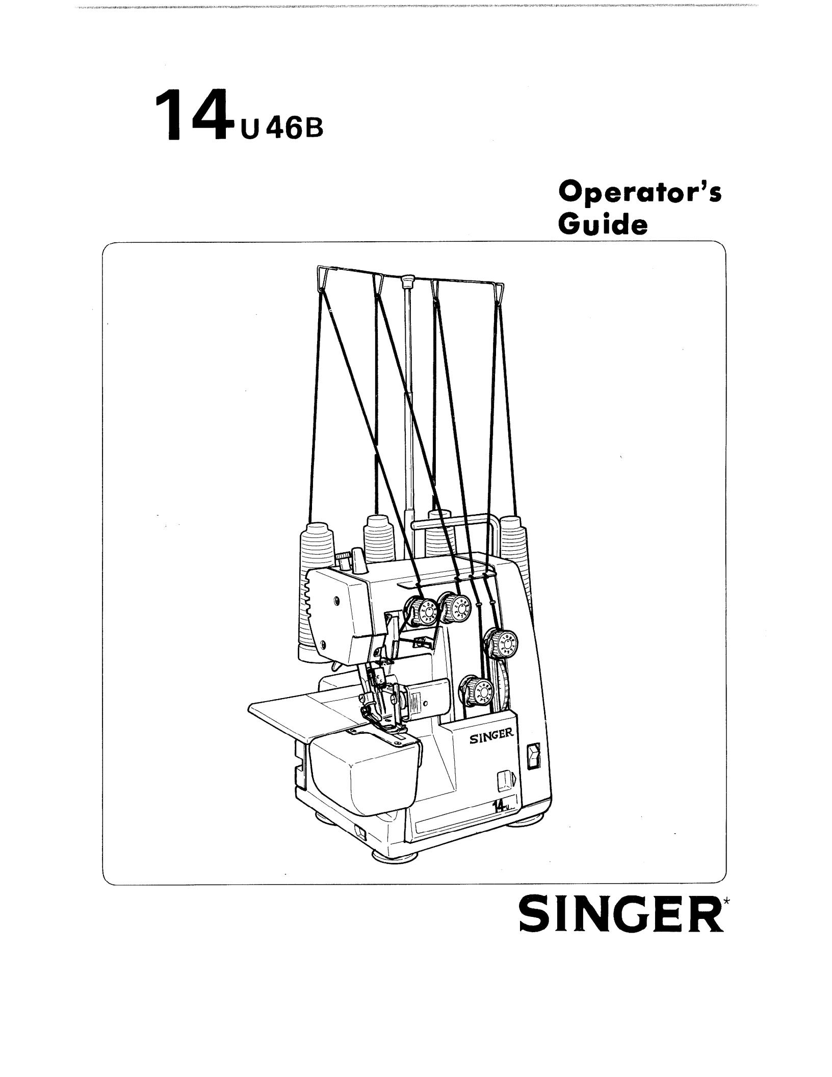 Singer 14u46b