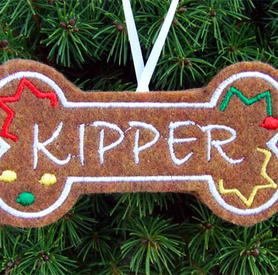Personalized Christmas Ornament for Dogs