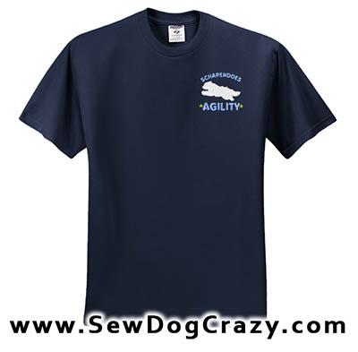 Schapendoes Agility Tshirt
