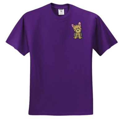 Embroidered Yorkie TShirt