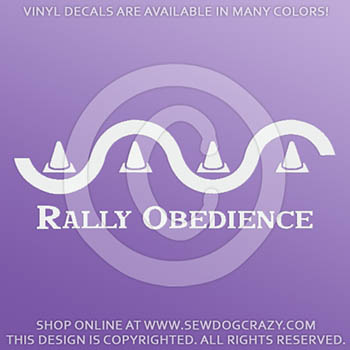 Rally Obedience Decals