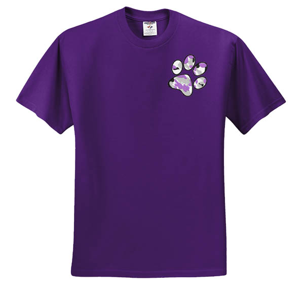 Cool Dog Lover Embroidered T-Shirt