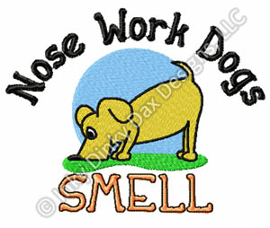 Funny Nose Work Embroidery