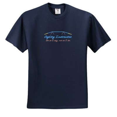 Embroidered Agility Instructor TShirt