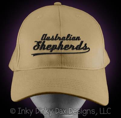 Baseball Australian Shepherd Hat