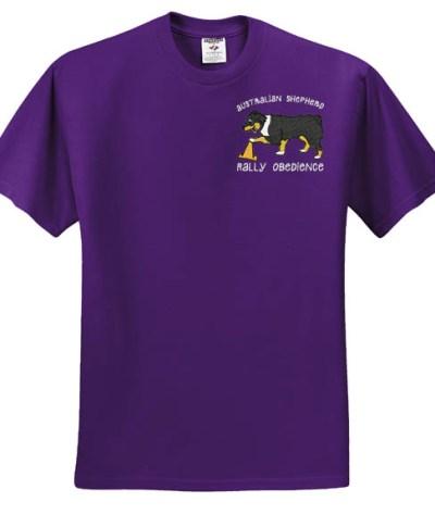 Embroidered Aussie RallyO Tshirt