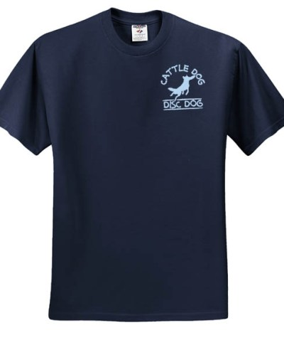 Disc Dog Embroidered TShirt
