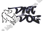 Graffiti Disc Dog Embroidery