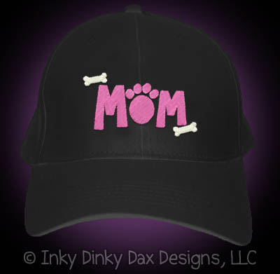Embroidered Dog Mom Hat