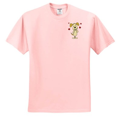 Puppy Love Embroidered Shirt