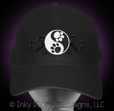 Embroidered Yin Yang Hat
