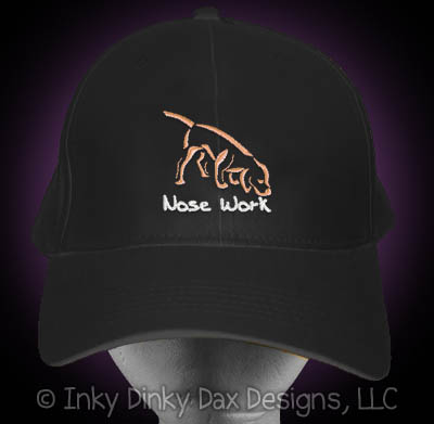Embroidered Nose Work Hat
