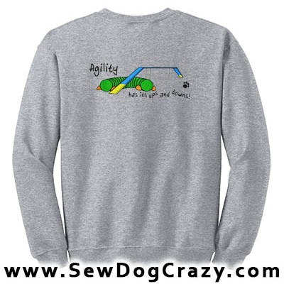 Agility Dog Walk Sweatshirt