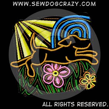 Embroidered Joyful Dog Shirts