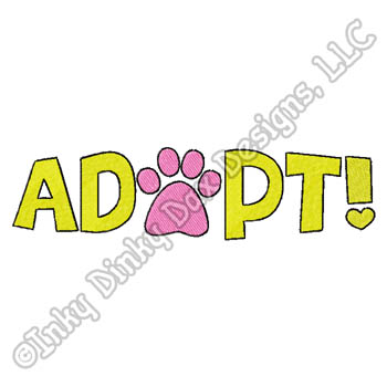Cute Pet Adoption Embroidery