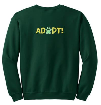 Adopt Embroidered sweatshirt