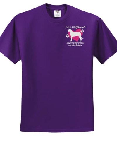 Embroidered Irish Wolfhound TShirt