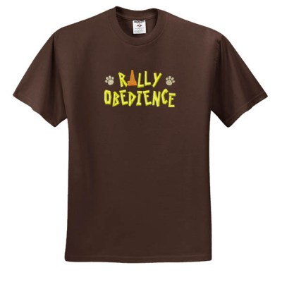 Embroidered Rally-O TShirt