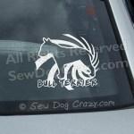 Cool Bull Terrier Window Decals
