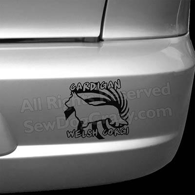 Cool Cardigan Welsh Corgi Bumper Stickers