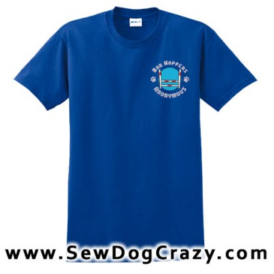 Dog Agility Bar Hopper Tshirt