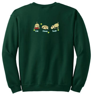 Cute Nose work Embroidered Sweatshirt
