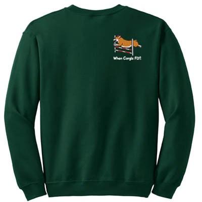 Funny Corgi Agility Sweatshirt
