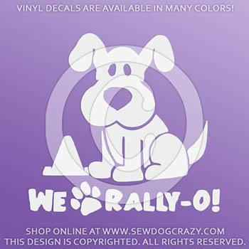 We Love Rally-O Vinyl Decals
