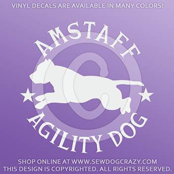 AmStaff Agility Decals
