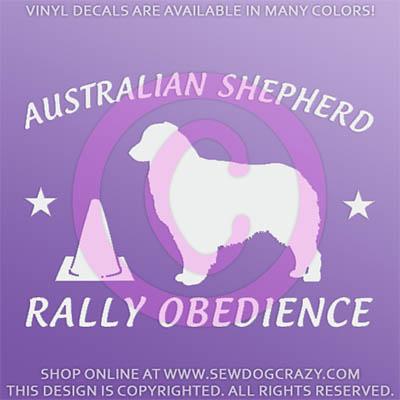 Aussie Rallyo Stickers