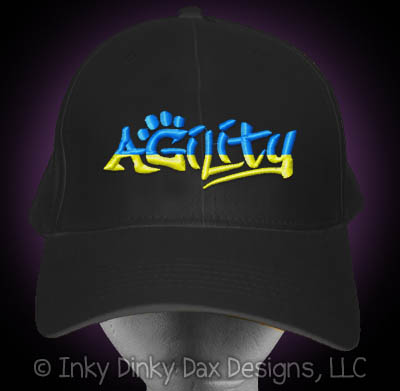 Embroidered Agility Graffiti Hat