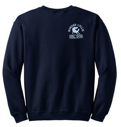 Border Collie Disc Dog Sweatshirt