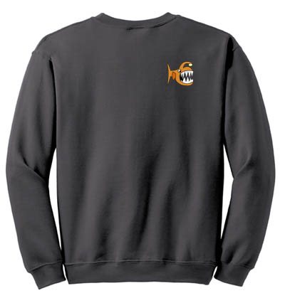 Angler Fish Embroidered Sweatshirt