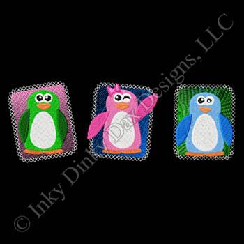 Fun Penguin Embroidery