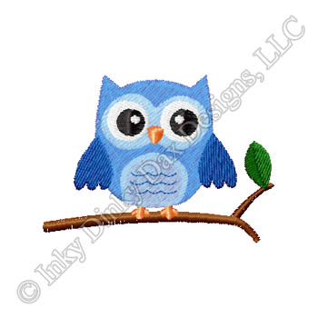 Cute Owl Embroidery