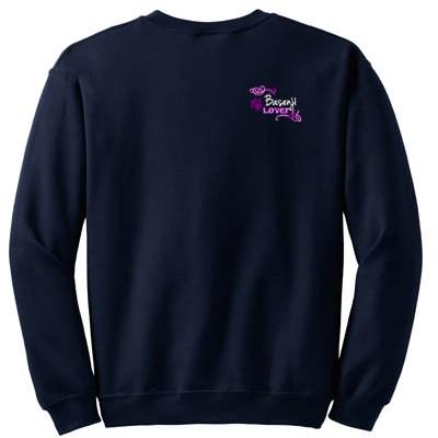 Embroidered Basenji Sweatshirt